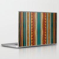 tribal Laptop & iPad Skins featuring Tribal by Klara Acel