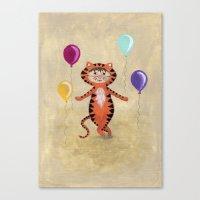 I'm A Tiger - Rooooaaarrrr Canvas Print
