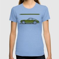 Porsche 911 / IV Womens Fitted Tee Athletic Blue SMALL