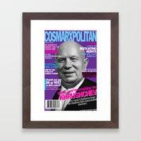 COSMARXPOLITAN, Issue 14 Framed Art Print