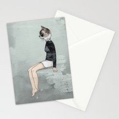 Cat Woman Stationery Cards