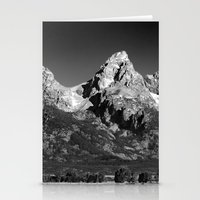 Grant Teton National Park - Mountains Stationery Cards