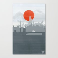 Avatar - Air Book Canvas Print