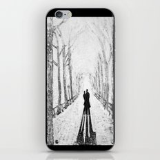 Winter Walk in the Park iPhone & iPod Skin