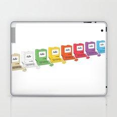 8 Macs in a Row Laptop & iPad Skin