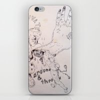 Over Around Under And Th… iPhone & iPod Skin