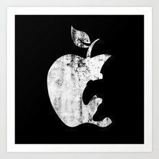 the Apple Art Print