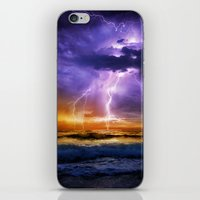Illusionary Lightning iPhone & iPod Skin