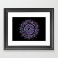 Kaleid Framed Art Print
