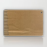 Laptop & iPad Skin featuring Cardboard Paper by Patterns And Texture…