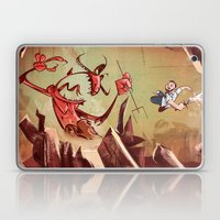The Devil Is A Jerk Laptop & iPad Skin