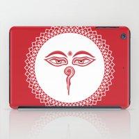 Swayambhu Eyes iPad Case