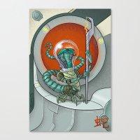 Astro Zodiac Force 06: Snake Canvas Print