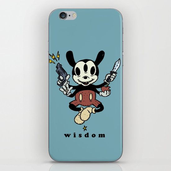 Wisdom iPhone & iPod Skin