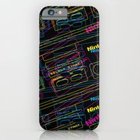 iPhone & iPod Case featuring ness control pattern by YIDO