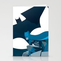 Knight Over Gotham Stationery Cards