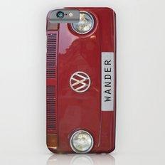 Wander wolkswagen. Summer dreams. Red iPhone 6 Slim Case