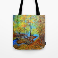Autumn landscape 4 Tote Bag
