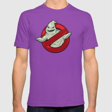 Boogiebusters Mens Fitted Tee Ultraviolet SMALL