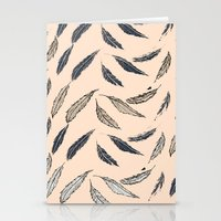 Feathered Stationery Cards