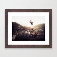 Heights Framed Art Print