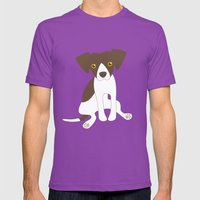Dave The Dog Mens Fitted Tee Ultraviolet SMALL