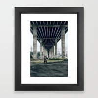 Bear sighting Framed Art Print