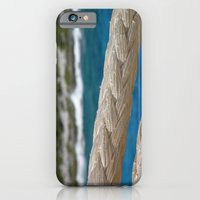 iPhone & iPod Case featuring Rope by the sea by Bret Caiazzi