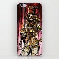 Zombie Ventriloquist Gir… iPhone & iPod Skin