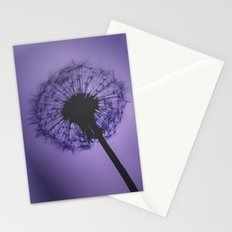 Purple Dandelion Stationery Cards