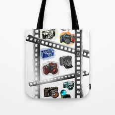 Iconic Cameras! Tote Bag