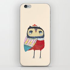 Sweet Owl. owl, owl art, owl print, owls iPhone & iPod Skin