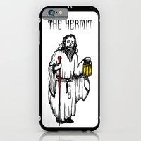 iPhone & iPod Case featuring The Hermit Tarot by EVOL