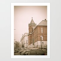 Vicksburg Downtown IV Art Print