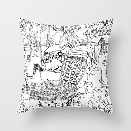 Mere Throw Pillow