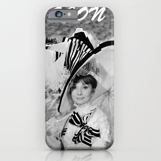 Audrey Hepburn ICONIC ICON BEAUTY SCENE iPhone & iPod Case