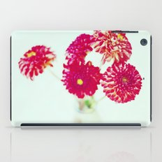 Pom Pom Dahlias iPad Case