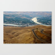 Lewiston-Clarkston Canvas Print