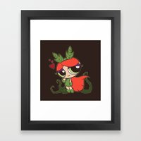 Poison Puff Framed Art Print