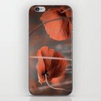 Oh ! My Poppy ! iPhone & iPod Skin