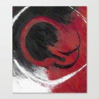 Smolder Canvas Print