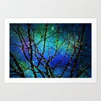 twilight Art Prints featuring twilight by Sylvia Cook Photography