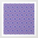 Purple Pop Art Print