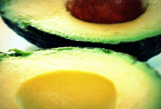 Avocado Slice Canvas Print