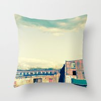 Papermill Throw Pillow