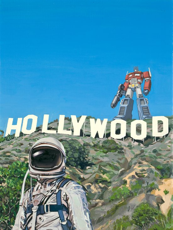 Hollywood Prime Art Print