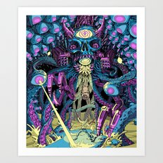 Boss Fight! Art Print