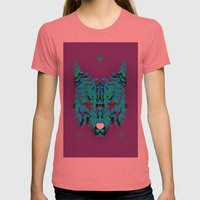 Fox Womens Fitted Tee Pomegranate SMALL