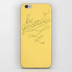 Be Positive iPhone & iPod Skin