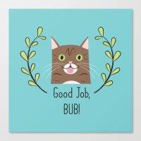 Lil Bub Canvas Print
